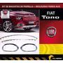 Fiat Toro Kit De Cromados- Modulduras De Faro Aux + Baguetas