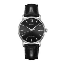 Relógio Masculino Mido Baroncelli Pulseira De Couro M013.410