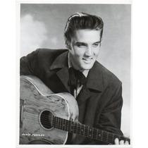 Fotografía Original Del Actor Y Cantante Elvis Presley