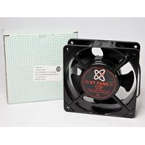 Turbina Cooler Metalico Buje 4 Pulgada 120x120x38 220v Htec