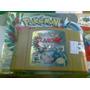 Nintendo 64 Cassette Juego (pokemon Stadium 2)