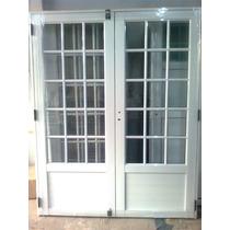 Puerta balcon interior rosario aberturas en mercado for Precio de puertas de aluminio en rosario