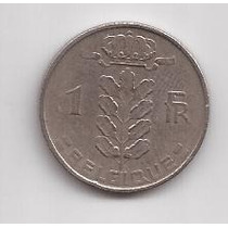 Belgica Moneda De 1 Franco Año 1951 Belgique !!!