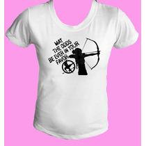 Camiseta Babylook Jogos Vorazes - Hunger Games 18