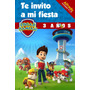 Libro Invitacion Para Colorear Personalizado