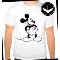 Camiseta Mickey Mouse Desenho Masculina Ou Feminina