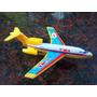 Juguete Avion Hojalata Chapa Japones Decada Del ´70
