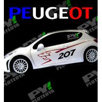 Grafica Kit De Peugeot - Calcos Autoadhesivas - Ploteo