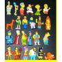 Coleccion De 24 Muñequitos Chocolatin Jack Simpsons 2007
