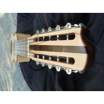 Charango De Luthier Con Caja De Guitarra