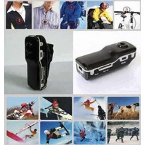 Filmadora Mini Dv Dvr Webcam Camera Capacete