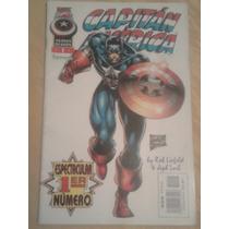 Capitán América Vol. 2 Nº1 Marvel Forum,planeta De Agostini