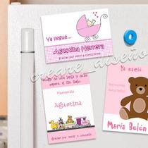 20 Souvenirs De Nacimiento Babyshower Cumple Imanes Beba