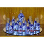 10 Botellitas De Vidrio Con Sales Souvenirs