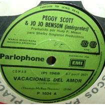 Peggy Scott & Jo Jo Benson Vacaciones Del Amor Simple Arg