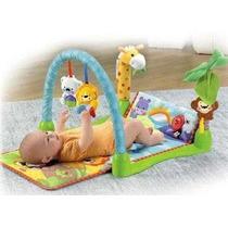 Gimnasio Para Bebe Y Alfombra Musical Mi Junglita Zippy Toys