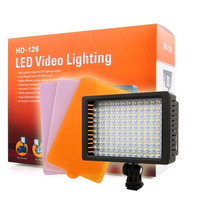 Iluminador Profissional Led Video Lighting Hd-126