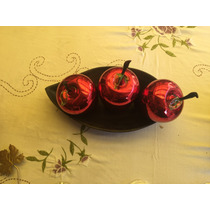Esferas Decorativas En Forma De Manzana Envío Gratis.