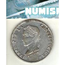 Bolivia Moneda De 4 Soles De Plata 1859 F J Km 123.3 - Xf-