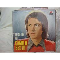 Vinilo Camilo Sesto Algo De Mi