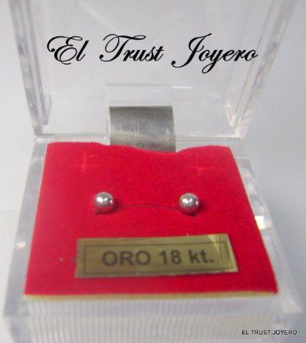 aad5c9440c6a Aritos Abridores Oro Blanco 18k Nº2 El Trust Joyero Garantia -   3.745
