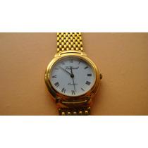 Reloj Valiant Suizo Unisex Metal Dorado