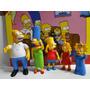 Kit Simpsons Mexe Braço Cabeça Perna Tem Luz Led