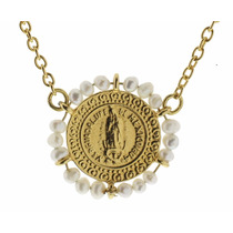 Joyeria Goretti Dos Collares Medalla Virgen Guadalupe