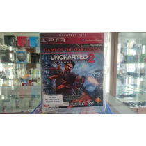 Uncharted 2 Among Thieves - Ps3 Mídia Fisica Semin Novo