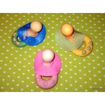 10 Souvenirs Nacimiento Chupetes Porcelana Fría Narartesana