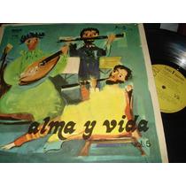Alma Y Vida - Vol 5 Lp Orig Excelente Estado Ex/ex