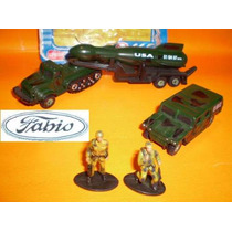 Cavalo Mecânico Milit.1/2-lagarta+carreta+hanvee+fogu+2 Sold