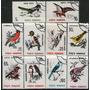 Rumania Serie Completa X 10 Usados Fauna-aves Y Pájaros 1993