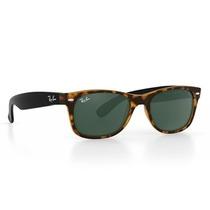 Gafas De Sol Ray Ban Wayfarer Rb2140 Lente Negro Marco Marr