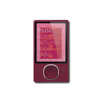 Zune - Reproductor De Mp3 Con 80 Gb De Disco Duro * - Rojo