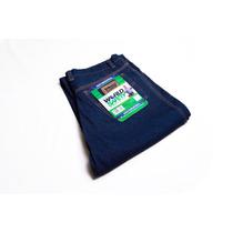 Pantalon Jeans Industrial De Seguridad,14 Onz Triple Costura
