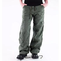Pantalones Para Campo Talla Medium Color Verde