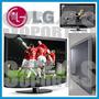 Soporte Especial Para Lcd Led Tv Lg 32 Fijo 10x10 20x10 Cms.