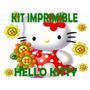 Kit Imprimible Candy Bar Hello Kitty Personalizar Golosinas