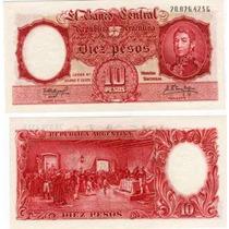 10 Pesos Moneda Nacional Bottero 1971b Sin Circular Oferta