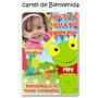 Sapo Pepe - Cartel De Cumpleaños Bienvenida Personalizado Fo