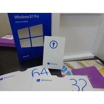 Cartão Chave Microsoft Windows 8.1 Pro Full Fpp 32/64bits
