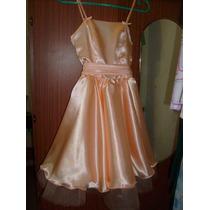 Vestido De Fiesta Con Chaqueta Para Niñas Talles 9-10-11-12