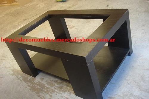 Mesa ratona madera laqueada diseño moderno minimalista    2.686 ...