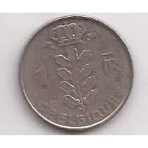 Belgica Moneda De 1 Franco Año 1964 Belgique !!!