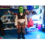 Disfraz De Shrek Shreck Careta O Vincha Niños De 7 A 9 Años