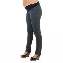 Pantalón Jean Para Embarazada Faja Cambreada (futura Mamá)