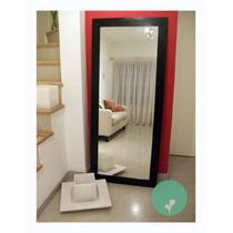 Espejo Con Marco De Madera-excelente Precio! 2,00 X 0,60