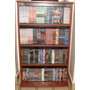 Biblioteca Mdf Organizador Porta Cd Dvd Blu Ray Ps4 312 Unid