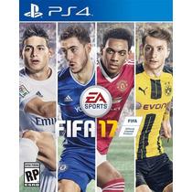 Juego Disco Fisico Fifa 17 Playstation 4 Ps4 Preventa